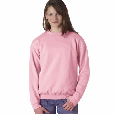 Gildan Youth Sweatshirt: 50/50 Heavy Blend Fleece Crewneck (G180B)