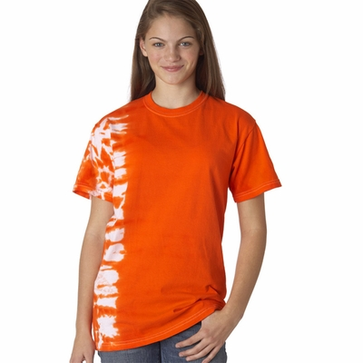 Gildan Youth T-Shirt: 100% Cotton Tie-Dye One-Color Fusion (81B)