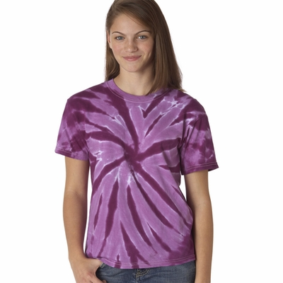 Gildan Youth T-Shirt: 100% Cotton Tie-Dye One-Color Pinwheel (77B)