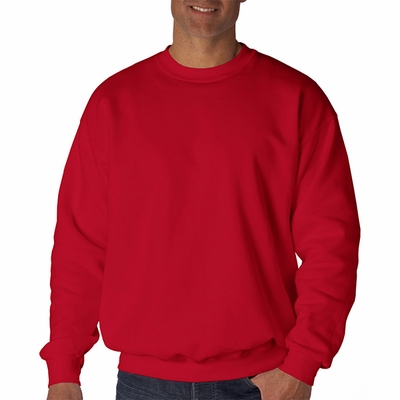 9.7 oz. Ultimate Cotton® 90/10 Fleece Crew: (F260)
