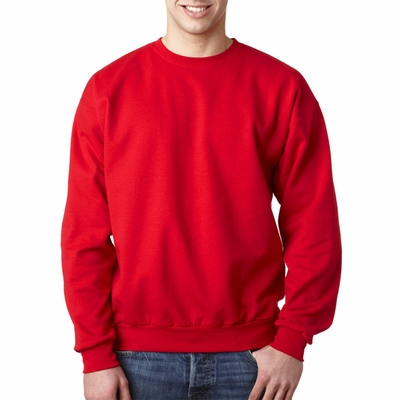 Hanes Men's Sweatshirt: 7.8 oz. ComfortBlend 50/50 Fleece Crew (P1607)