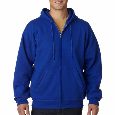 Hanes Men's Sweatshirt: 7.8 oz. ComfortBlend 50/50 Full-Zip Hood (P180)
