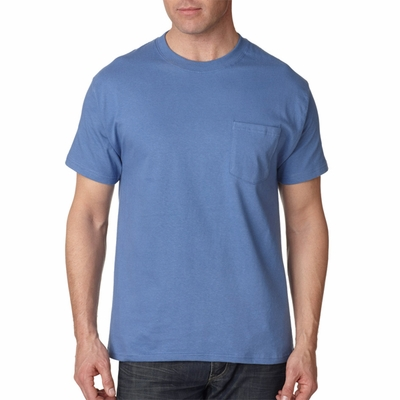 Hanes Men's T-Shirt: 100% Cotton Beefy-T Pocket (5190P)
