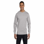 Hanes Men's T-Shirt: 100% Cotton ComfortSoft Long-Sleeve (5286)