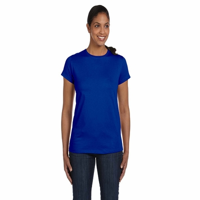 Hanes Women's T-Shirt: 100% Cotton Crewneck (5680)