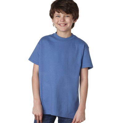 Hanes Youth T-Shirt: 100% Cotton Authentic Tagless (5450)