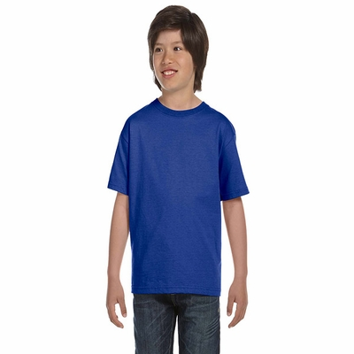 Hanes Youth T-Shirt: 100% Cotton ComfortSoft (5480)