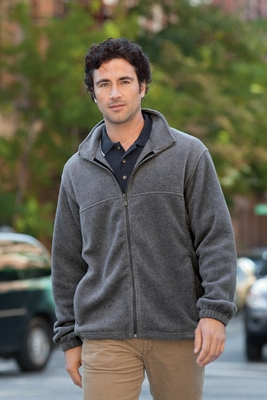Men's 8 oz. Full-Zip Fleece: (M990)