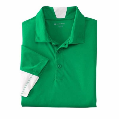 Harriton Men's Polo Shirt: (M355)