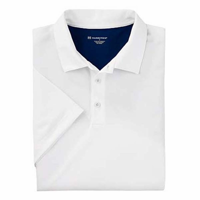 Men's Back Blocked Micro-Piqué Polo: (M356)