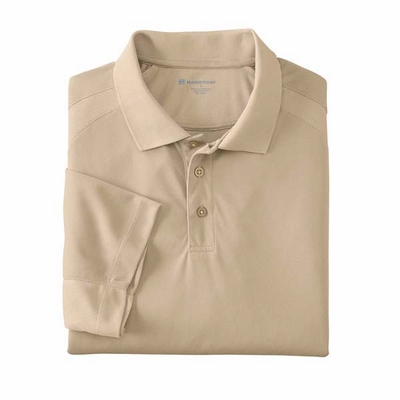 Men's 3.8 oz. Polytech Mesh Insert Polo: (M374)