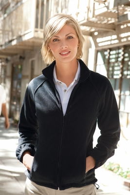 Harriton Women's Jacket: 8 oz. Full-Zip Fleece (M990W)