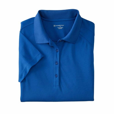 Ladies' 3.8 oz. Polytech Mesh Insert Polo: (M374W)