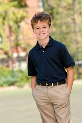Harriton Youth Polo Shirt: 5 oz. Easy Blend (M265Y)