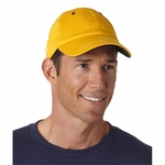 HYP Sportswear Cap: 100% Cotton 6-Panel Baseball Zippered Pocket (A4001)