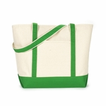 HYP Sportswear Women's Tote Bag: 100% Cotton Beach (HY801)