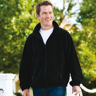 Inner Harbor Men's Jacket: Poly Micro-Fleece Full-Zip w/ Pockets (61)