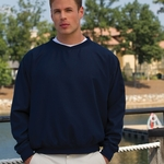 Inner Harbor Men's Wind Shirt: Ultrasoft Sueded Microfiber (32)
