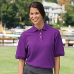 Inner Harbor Women's Polo Shirt: Basic Import Pique (7201)