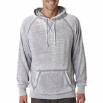 J. America Men's Sweatshirt: Cotton/Poly Blend Zen Vintage Hooded Pullover (J8915)