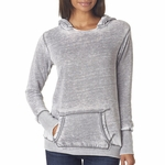 Ladies' Zen Pullover Fleece Hood: (JA8912)