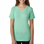J8132 J.America Ladies' Oasis Wash V-Neck Tee