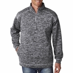 J8614 J.America Adult Cosmic 1/4-Zip Fleece