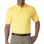 JERZEES Men's Polo Shirt: 100% Cotton Jersey (J100)
