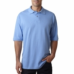 JERZEES Men's Polo Shirt: 100% Cotton Pique (440)