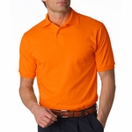 JERZEES Men's Polo Shirt: 5.6 oz. 50/50 Jersey with SpotShield (437)