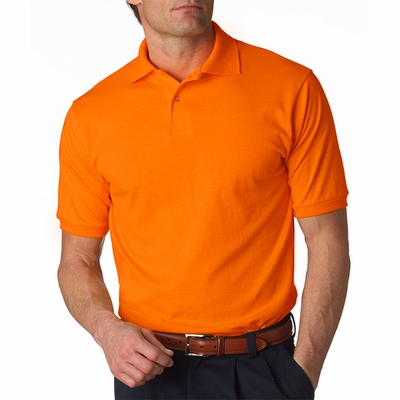 Men's 5.6 oz., 50/50 Jersey Polo with SpotShield™: (437)
