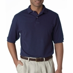 JERZEES Men's Polo Shirt: 5.6 oz. 50/50 Pique with SpotShield (438)