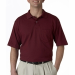 JERZEES Men's Polo Shirt: Jersey Pocket with SpotShield (436P)