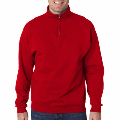 JERZEES Men's Sweatshirt: 1/4 Zip w/ Cadet Collar (995)