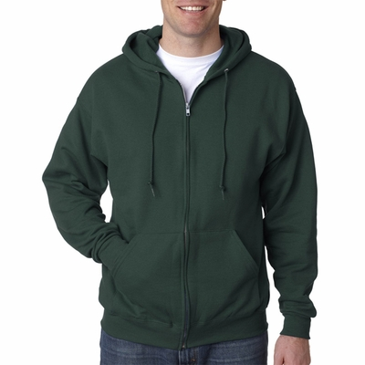 JERZEES Men's Sweatshirt: 8 oz. 50/50 Full-Zip Hood (993)
