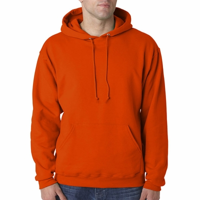 JERZEES Men's Sweatshirt: 8 oz. 50/50 Pullover Hood (996)