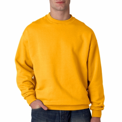 JERZEES Men's Sweatshirt: 9.5 oz. Super Sweats 50/50 Crew (4662)