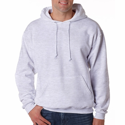 JERZEES Men's Sweatshirt: 9.5 oz. Super Sweats 50/50 Pullover Hood (4997)