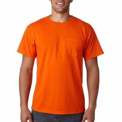 JERZEES Men's T-Shirt: 5.6 oz. 50/50 Pocket (29P)