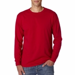 JERZEES Men's T-Shirt: 5.6 oz. Heavyweight Blend 50/50 Cotton/Poly Long-Sleeve (29L)