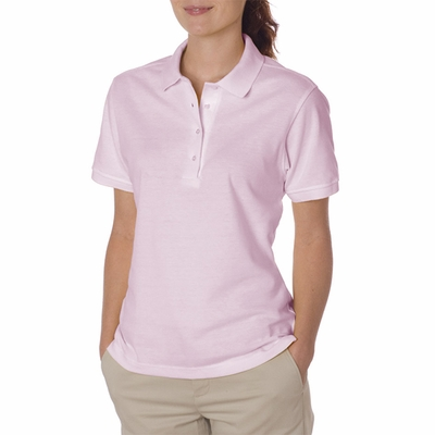 JERZEES Women's Polo Shirt: 100% Cotton Pique (440W)