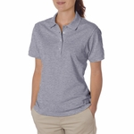 JERZEES Women's Polo Shirt: 5.6 oz. 50/50 Jersey with SpotShield (437W)