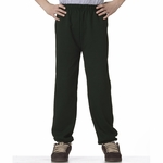 JERZEES Youth Sweatpants: No Pockets 8 oz. 50/50 (973B)