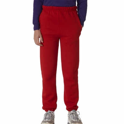 JERZEES Youth Sweatpants: Super Sweats w/ Pockets (4950B)