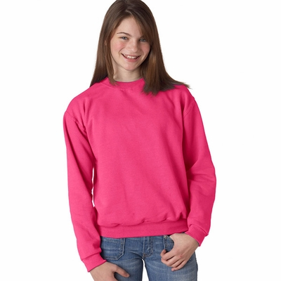 Youth 8 oz., 50/50 NuBlend® Fleece Crew: (562B)