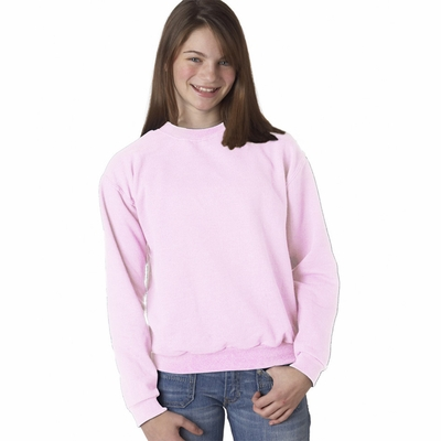 JERZEES Youth Sweatshirt: 8 oz. 50/50 Crew Neck (562B)