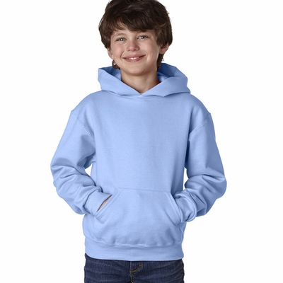 Youth 8 oz., 50/50 NuBlend® Fleece Pullover Hood: (996Y)