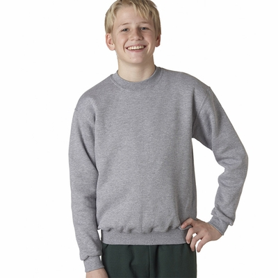 JERZEES Youth Sweatshirt: 9.5 oz. Super Sweats 50/50 Crew (4662B)
