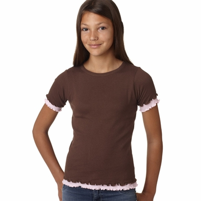 LAT Sportswear Girls T-Shirt: (2638)