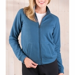 LAT Sportswear Women's Cadet Jacket: French Terry Raglan-Sleeve (3655)